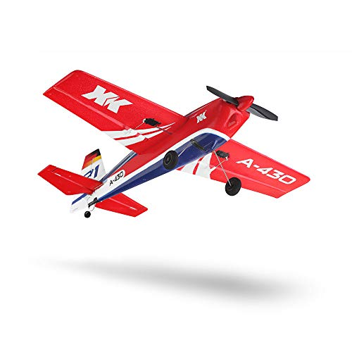 Soosch Remote Control RC Helicopter Flying Toys,Racing Propel Airplane Helicopters XK A430 2.4G 5CH Brushless Motor 3D6G System RC Airplane EPS Aircraft Drone Flight Quadcopter Toys for Adults