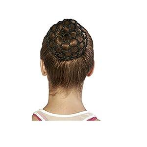 Bloch Unisex-Adult's Standard Hair Bun Cover, black, one