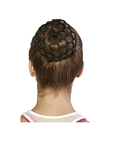 Bloch Unisex-Adult's Hair Bun Cover, Black, one ()