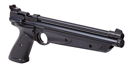 Crosman P1377 American Classic Multi Pump .177-Caliber Pneumatic Pellet Air Pistol, Black