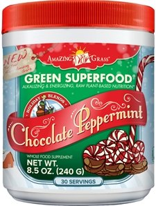 Amazing Grass - Green SuperFood Powder Holiday Blend 30 Serv