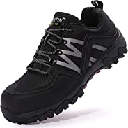 WHITIN Men's Steel Toe Slip Resistant Puncture Proof Construction Safety Work S