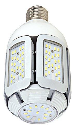 Satco S9750 30W LED HID Replacement 5000K Medium Base Adjustable Beam Angle 100-277V Light Bulb