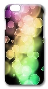 Circle bokeh Custom iphone 6 plus 5.5 inch Case Cover Polycarbonate 3D