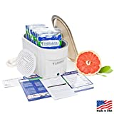 Therabath Professional Thermotherapy Paraffin Bath - Arthritis Treatment Relieves Muscle Stiffness - for Hands, Feet, Face and Body - 6 lbs Grapefruit Tea Tree
