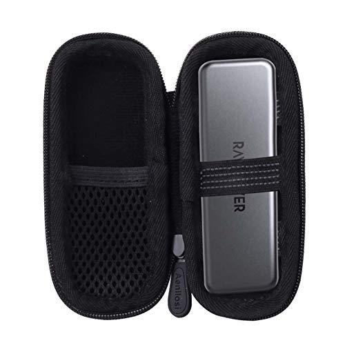 Aenllosi Hard Carrying Case for RAVPower Portable External SSD Pro/Mini Hard Drive 512GB/1TB