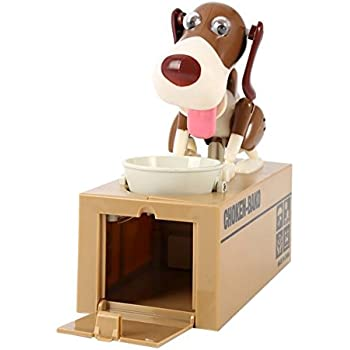 Amazoncom Bigoct Cute Dog Money Box Piggy Bank Toys Games