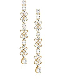 kate spade new york Linear Gold Drop Earrings