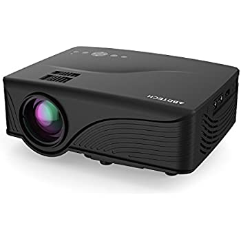 Projector 2017 dinly 130 lcd portable video for Portable movie projector