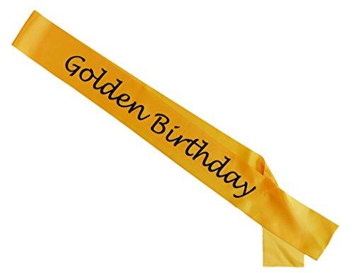 Golden Birthday Sash ()