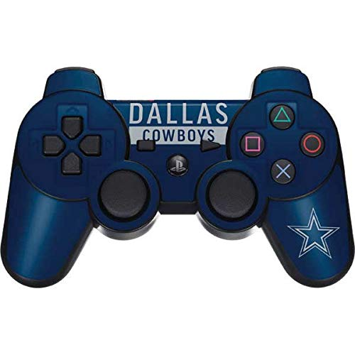 Skinit Dallas Cowboys Blue Performance Series PS3 Dual Shock Wireless Controller Skin - Officially Licensed NFL Gaming Decal - Ultra Thin, Lightweight Vinyl Decal Protection