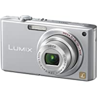 Panasonic Lumix DMC-FX33S 8.1MP Digital Camera with 3.6x Wide Angle MEGA Optical Image Stabilized Zoom (Silver)