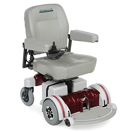 Hoveround Electric Wheelchair - Motorized Power Chair and Mobility Scooter | LX-5 Red Trim