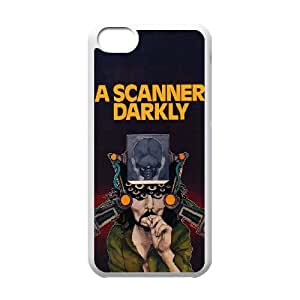 WJHSSB Diy case A Scanner Darkly customized Hard Plastic Case For Iphone 5C [Pattern-6]