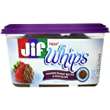 Jif Whipped Peanut Butter and Chocolate Flavored Spread, 15.9 Ounce