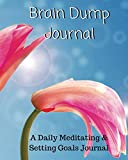 Brain Dump Journal: A Daily Meditating and Setting Goals Journal