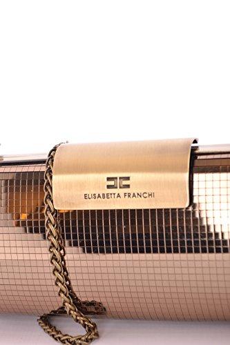 Elisabetta Franchi Borsa A Spalla Donna MCBI113275O Poliammide Oro