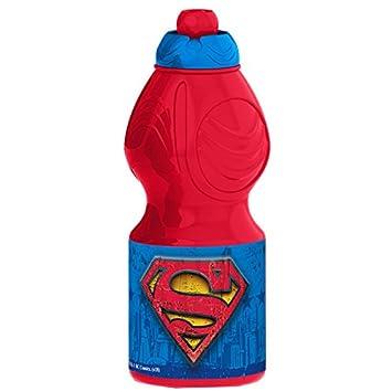 Superman Bottle Canteen Plastic Sport 400/ml Symbol Multi-Colour