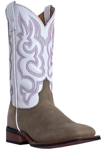 Laredo Womens 11 Pull On Cowboy Boots, Brown