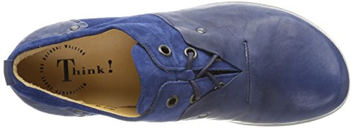 Think Kong_282651, Scarpe Stringate Brouge Uomo Blu (Capri/Kombi 90)