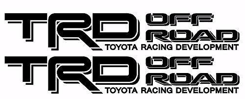 Toyota TRD Truck Off Road 4x4 Toyota Racing Tacoma Decal Vinyl Sticker (BLACK 070)
