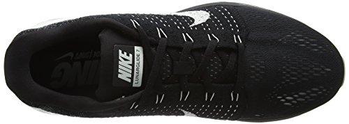 NikeLunarGlide 7 - Zapatillas de correr mujer Negro (Black / Summit White-Anthracite)
