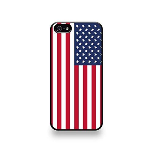 LD coqip5_60 Case Schutzhülle für iPhone 5/5S, Flagge USA