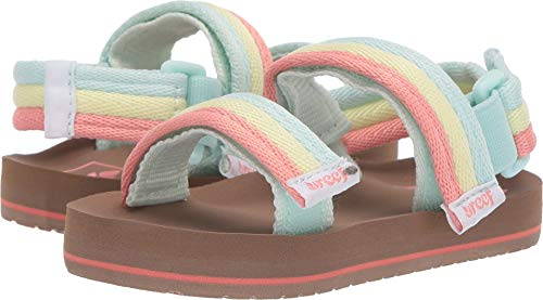 Ahi Toddlers Sandals - Reef Little Ahi Convertible Kids Sandals 5-6 M US Toddler Rainbow