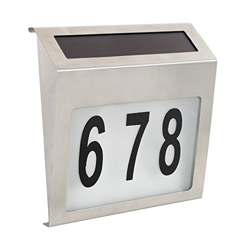 Outdoor House Number Light in US - 5
