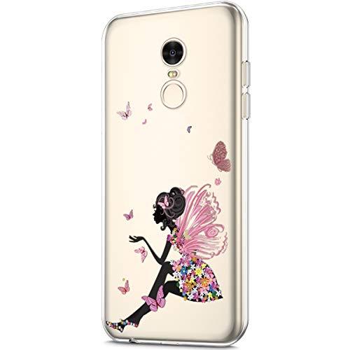 Xiaomi Ukayfe Rossa Cover Leggere Protettiva Modello 4 Sottile E Morbida Gel Redmi Case Chiaro For Rosa Silicone Custodia Tpu Trasparente colorato Note Con Gomma 4 Ultra dqI4rPIw