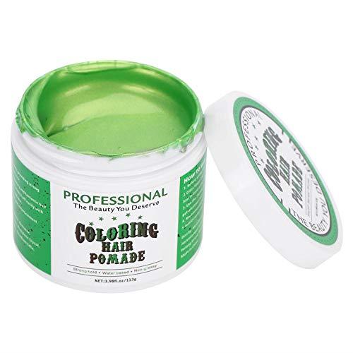 好色ななぞらえる葉巻5色113グラム使い捨てカラーヘアポマードワックス、簡単着色スタイリングヘア染料安全で快適な着色ヘアスタイルモデリングワックス用染料ヘアカラー(#5)