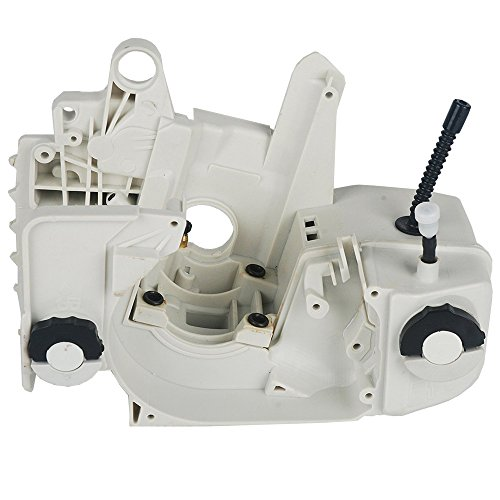 SaferCCTV Oil Fuel Gas Tank Crankcase Housing for STIHL 021 023 025 MS210 MS230 MS250 Chainsaw Replacement Part#1123 020 3003 11230203003 Case Cases Crankcase