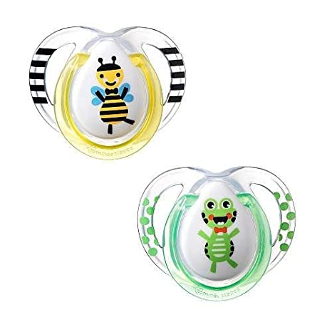 Chupete Tommee Tippee 2 unidades Fun Style 0 - 6 M Abeja ...