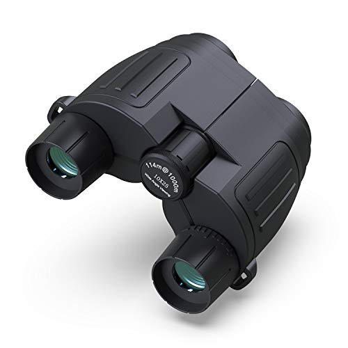 HiGoing 10x25 Binoculars for Adults Kids, Compact Folding High Powered HD Binoculars with Clear Weak Night Vision for Outdoor, Hunting, Bird Watching, Travel, Stargazing, Concerts and Sports