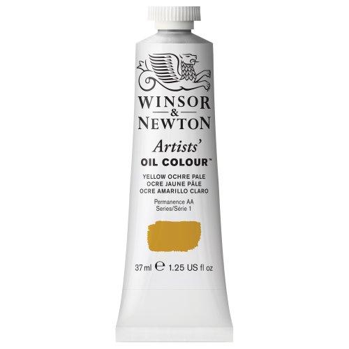 Winsor & Newton Artists' Oil Colour Paint, 37ml Tube, Yellow Ochre ()