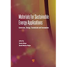 Materials for Sustainable Energy Applications: Conversion, Storage, Transmission, and Consumption