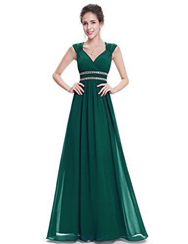 (Ever-Pretty Womens Long Formal Maxi Open Back Sleeveless Evening Dress 20 US Dark)