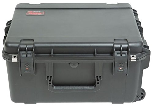 SKB 3i-2217-103U -  iSeries Fly Rack Case with Removable 3U Rack Cage, TSA Locking Latches, Wheels by SKB