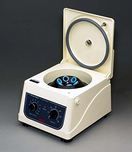 UNICO C818 Power spin Model VX Centrifuge, Up to 3400 rpm Non-Linear Variable Speed, 8 Place Rotor, 30 minutes Timer, 8 x 10 mL or 2 x 15 mL Capacity by UNICO