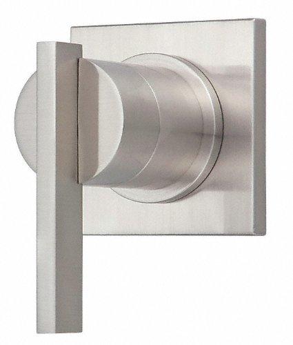 Danze Sirius Brushed Nickel 1 Handle Volume Control 4-Port Shower Diverter INCLUDES Rough-in (4 Port Diverter Rough)
