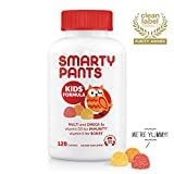 Health & Personal Care : SmartyPants Kids Formula Daily Gummy Vitamins: Gluten Free, Multivitamin & Omega 3 Fish Oil (DHA/EPA), Methyl B12, Vitamin D3, Vitamin B6, 120 Count (30 Day Supply) - Packaging May Vary