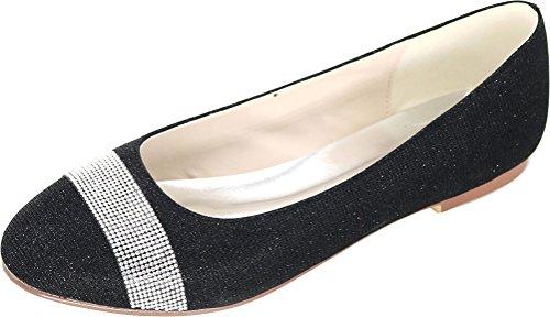 Sandales 5 Nice Noir Femme Compensées 36 Find Noir U548xv