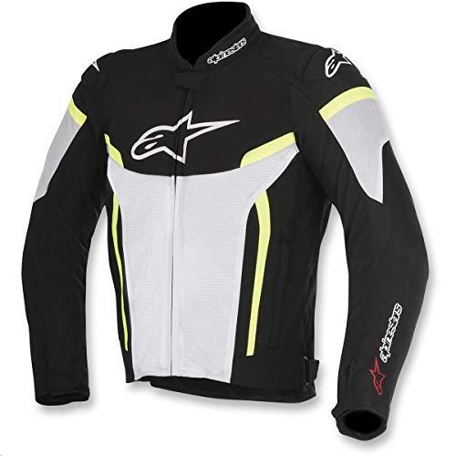 Amazon.com: Alpinestars T-GP Plus R v2 Air Jacket (MEDIUM) (BLACK/WHITE/RED): Automotive