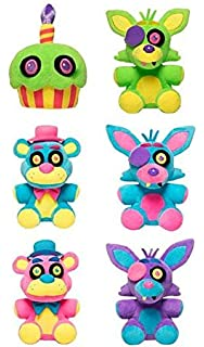 Funko Five Nights at Freddys Blacklight Plush Figure 18 cm Display (6) Peluches