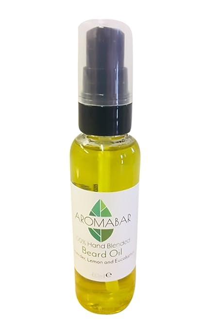 Aceite Para Barba 60 ml con lavanda, Limón Y Eucalipto Aceites Naturales