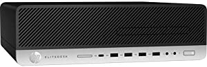 HP EliteDesk 800 G4 Desktop Computer, Intel Core i5-8500, 8GB RAM, 256GB SSD, Windows 10 Pro 64-bit 4DP54UT#ABA