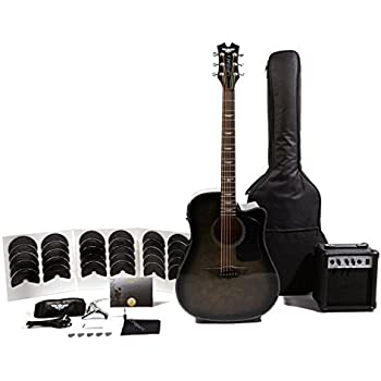 Keith Urban Acoustic Guitar : keith urban acoustic electric ripcord 40 piece guitar package rich black flame ~ Russianpoet.info Haus und Dekorationen