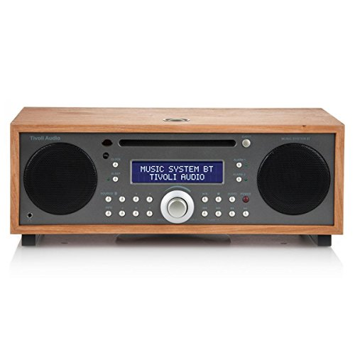Tivoli Audio Music BT All-In-One Wireless Bluetooth System (Cherry/Metallic Taupe)