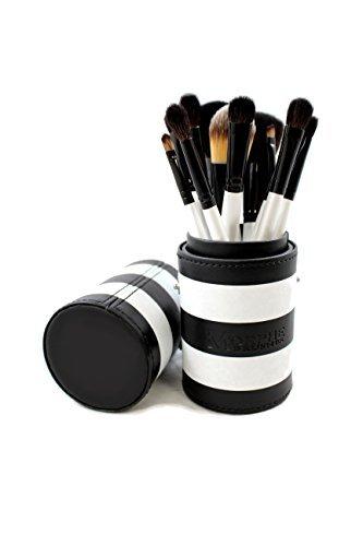 Morphe 12 Piece Black and White Travel Brush Set - Set 706 Morphe Brushes