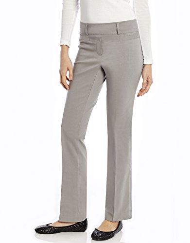 """Leveret Women's Stretchable """"Slight Boot Cut Comfort Pant""""Pull On"""